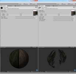 Tree bark leaves shaders materials Sara Donhildi Adventures